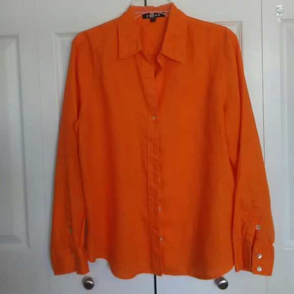 Chaus Tops - Chaus women's long sleeve shirt